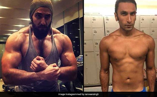 Ranveer Singh body transformation for Gullyboy
