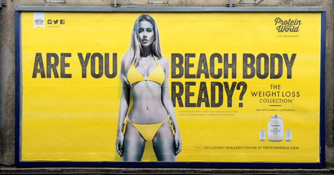 London Banned Body-Shaming Ads on Public Transport