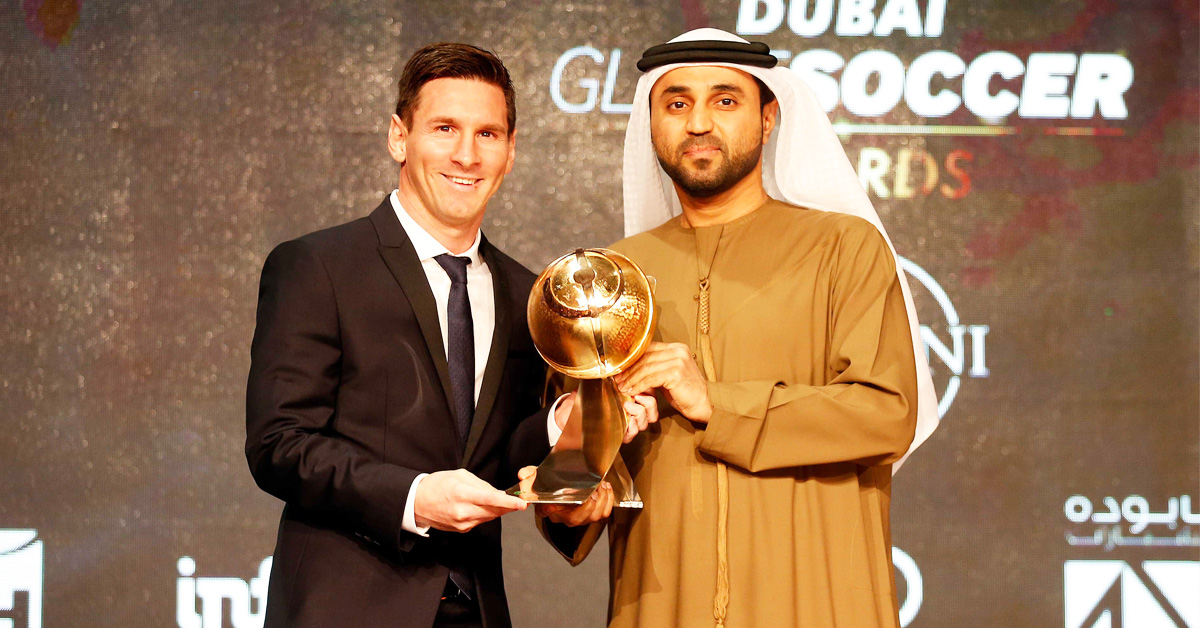 Lionel Messi to Receive Dubai Star for the Dubai Walk of Fame