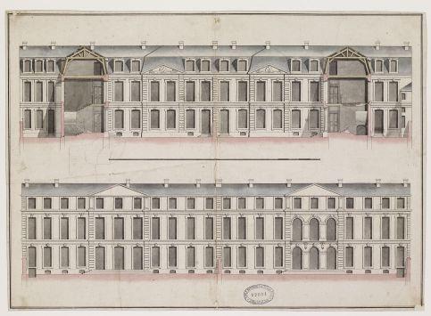 Pierre-Charles Prévotel, Hôtel du Président Chevalier et de Mme Levieulx, Ecole nationale supérieure des beaux-arts