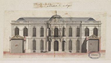 Pierre-Charles Prévotel, Hôtel de Matignon, Ecole nationale supérieure des beaux-arts