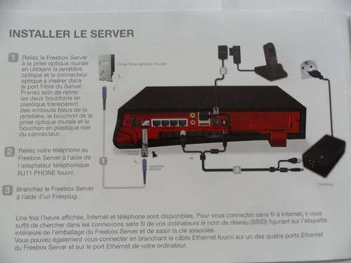 Kit Fibre Optique Chez FREE