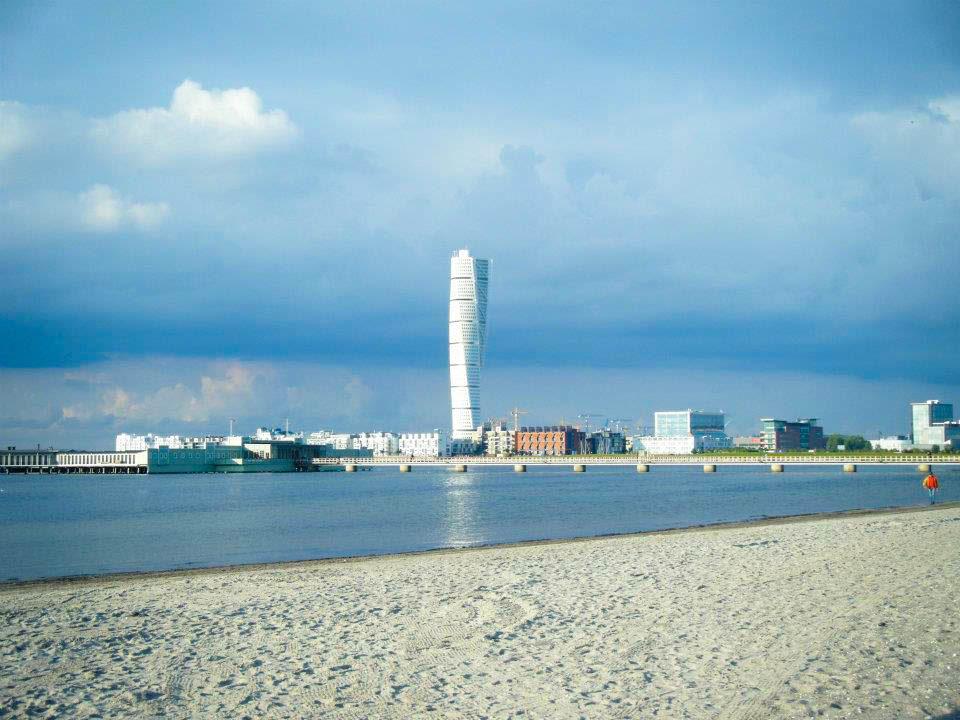 Turning Torso à Malmö en Suède