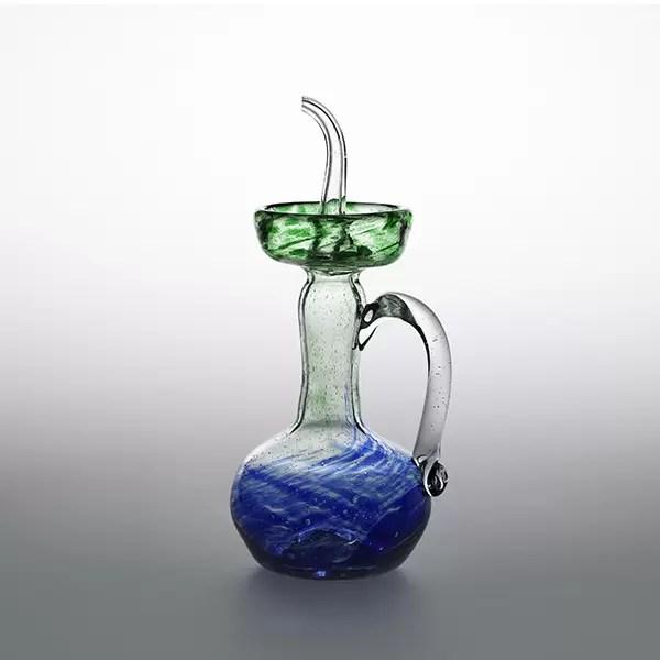 Aceitera mallorquina Verde Azul