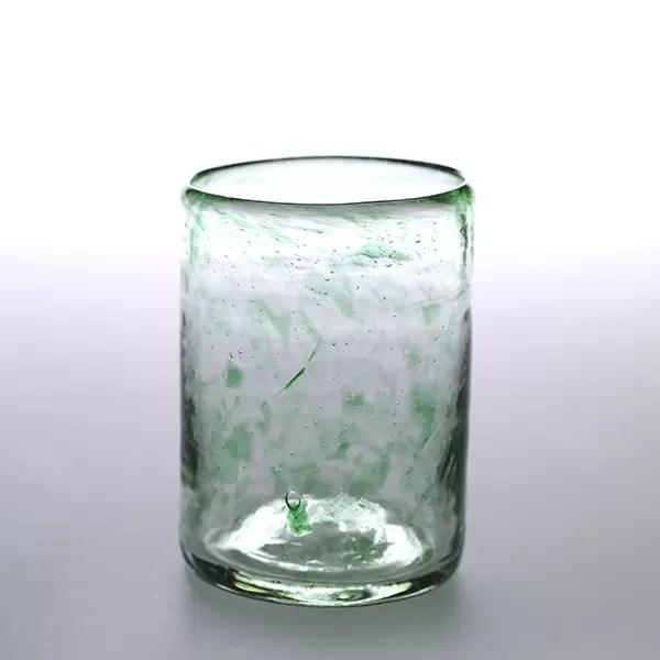 vaso vidrio verde