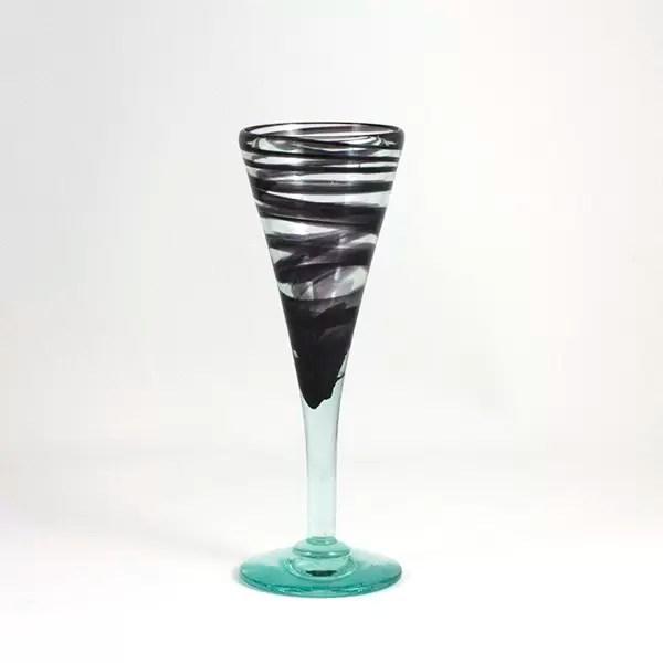Copa flauta vent negre