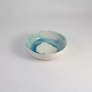 cuenco ceramica de mallorca celeste 14