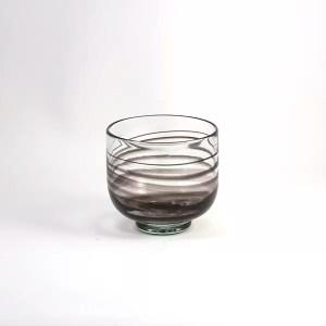 Cuenco Vidrio Negro