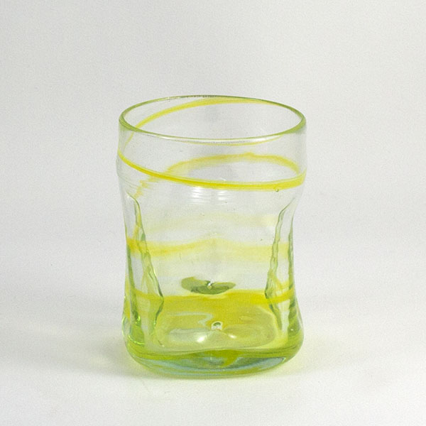 Vaso de Vidrio Glass Deia Yellow