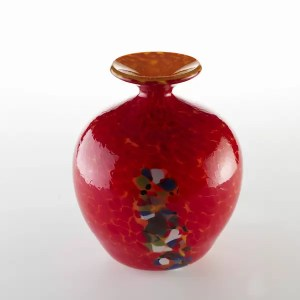 bola de cristal rojo - Red Glass Globe