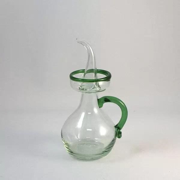 aceitera formentor verde - Oil Decanter Art Formentor