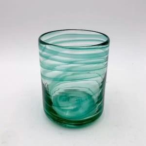 vaso glass turquesa lafiore.com  - Glas Cala