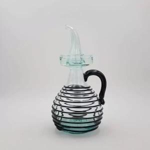 aceitera oilbottle nero hilada lafiore.com  - Ölkanne Negre Art