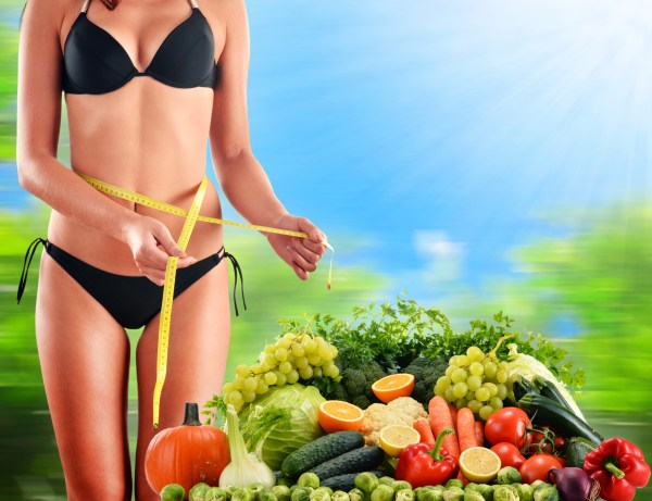 vegetables are key to a perfect beach body