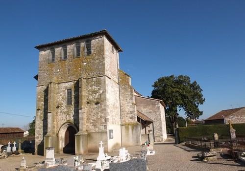 Église Saint-Sauveur à Lafitte sur Lot