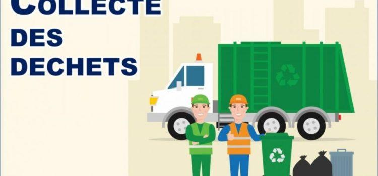 Calendrier de la collecte des déchets  (27 avril- 02 mai)