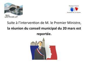 Premier conseil municipal de la nouvelle mandature
