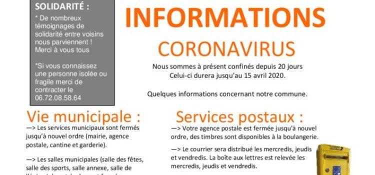 Lafitte-Infos Spécial Confinement