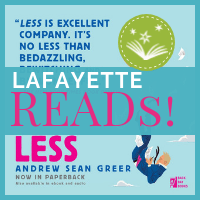 Lafayette Reads December selection, Less