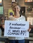Volunteer May Lowry