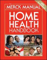 Merck Home Health Handbook