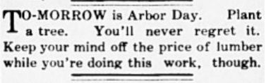 View article in the April 18, 1907 Lafayette Leader