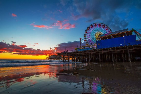 best places for a los angeles sunest