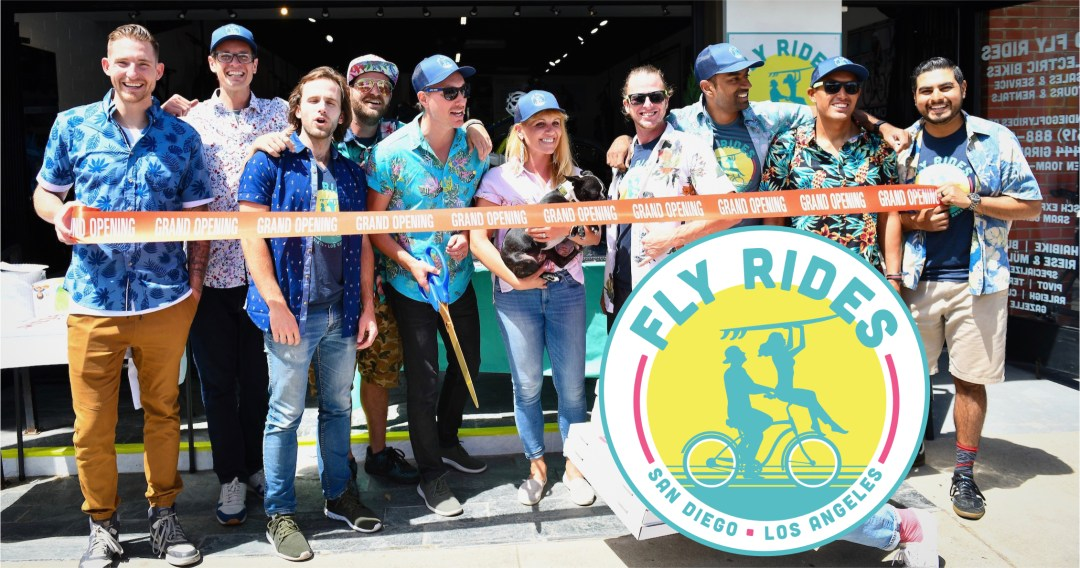Fly Rides ebike team