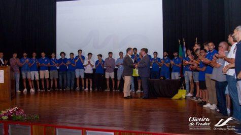 O. Frades - Homenagem a colectividades desportivas