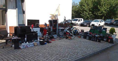 Objectos furtados em Vouzela e Oliveira de Frades