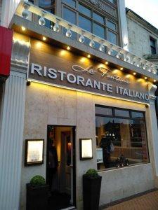 La Fontana Italian Restaurant, Blackpool