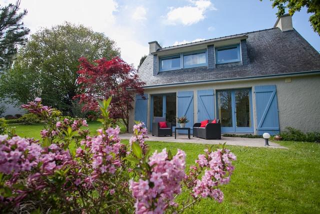 La maison de mamie du nord à deux terrasses pour profiter du soleil en vacances