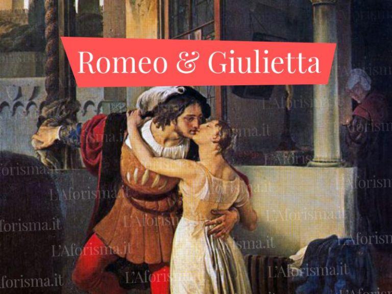 Le più belle <strong>frasi dal libro di Romeo e Giulietta</strong> – <em>Raccolta completa</em>