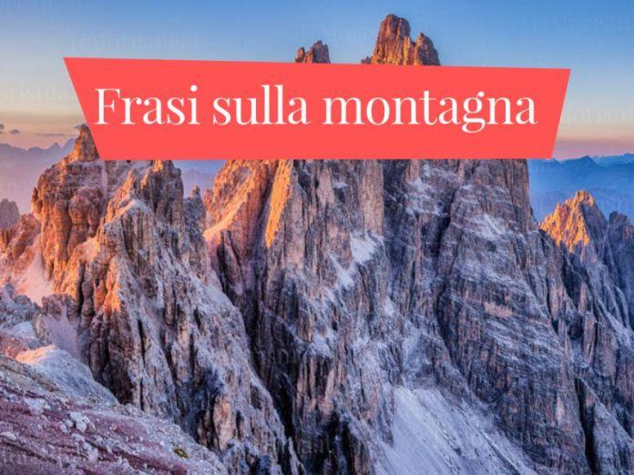 Le più belle frasi sulla montagna