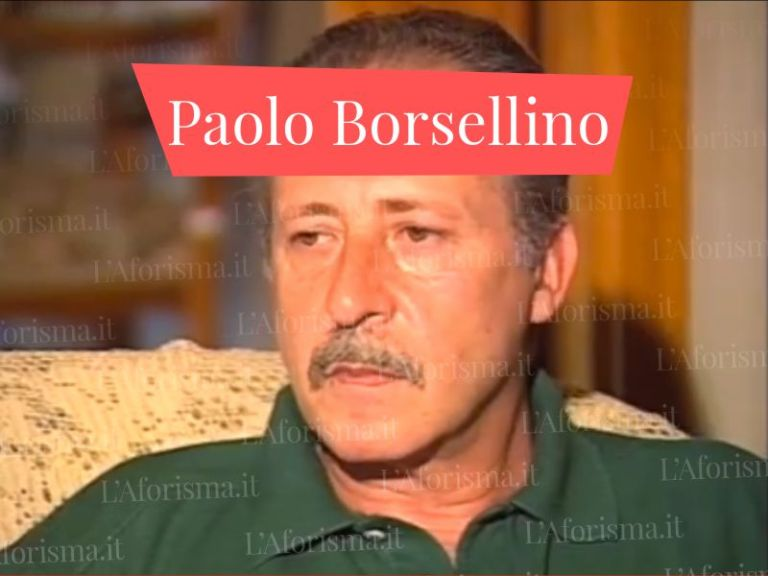 Le più belle <strong>frasi e citazioni di Paolo Borsellino</strong> – <em>Raccolta completa</em>