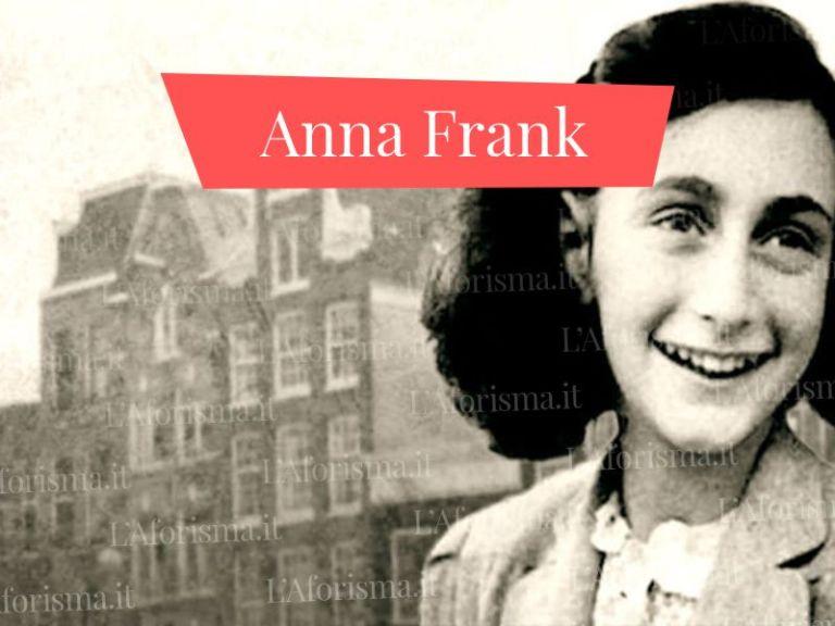 Le più belle <strong>Frasi del Diario di Anna Frank</strong> – <em>Raccolta Completa</em>