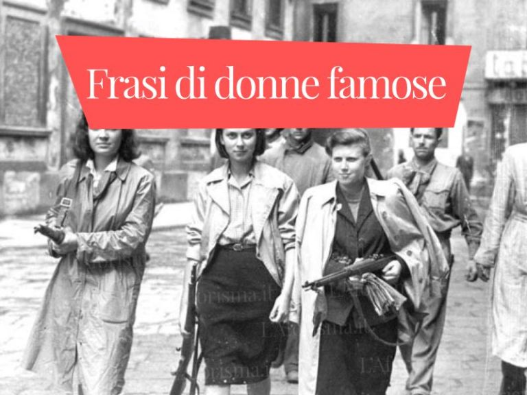 Le più belle <strong>Frasi di Donne Famose</strong>