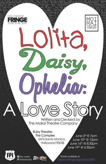 Lolita Daisy Ophelia A Love Story