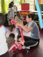 Chiara volontaria presso il centro Sambamba di Iringa in Tanzania