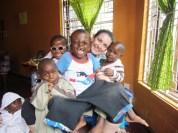Chiara presso il centro Sambamba di Iringa in Tanzania