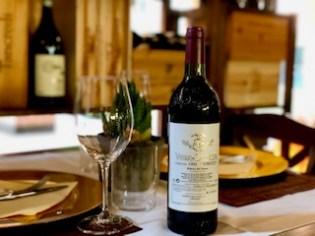 Vega Sicilia ristorante con cantina selezionata bergamo