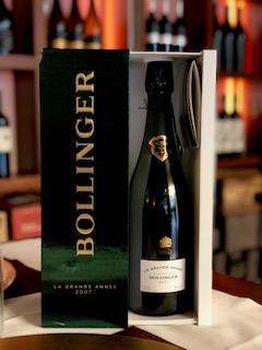 Bollinger la Grande Annee ristorante con cantina selezionata bergamo