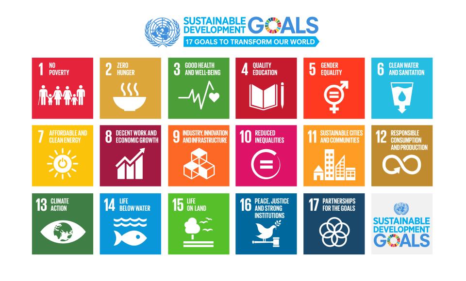 Les Objectifs de Développement Durables