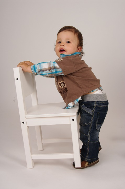 Child, Game, Chair