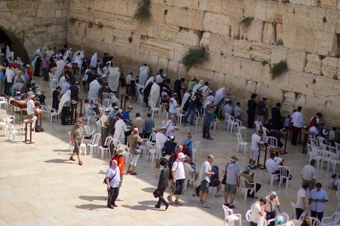 Jerusalém, Muro Das Lamentações, Fiéis, Pessoas
