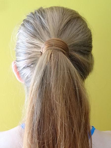 File:Hair Wrapped Ponytail.JPG