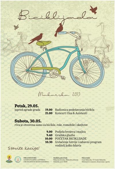 Biciklijada Makarska 2015.