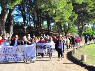 Caminata integradora por el Día Mundial de toma de conciencia de abuso y maltrato a la vejez
