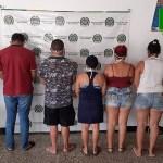 POLICÍA CAPTURÓ A CINCO PERSONAS QUE INCUMPLÍAN LA MEDIDA PREVENTIVA DE ASILAMIENTO OBLIGATORIO  EN SABANAS DE SAN ÁNGEL