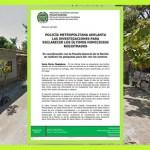 POLICIA METROPOLITANA TRAS LA PISTA DE AGRESORES EN CIÉNAGA Y SANTA MARTA.